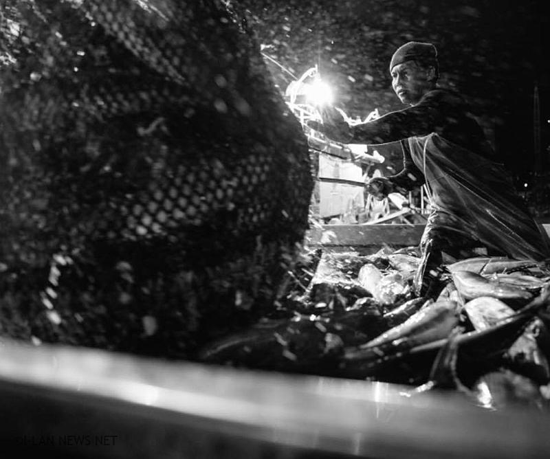 黃致鈞鏡頭下的「漁人」
