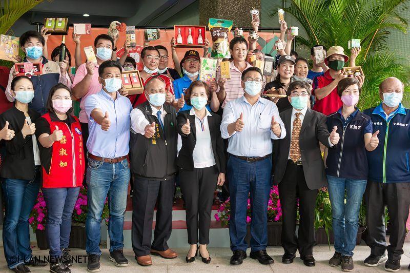 台灣東部唯一國道休息站蘇澳服務區加入在地農民市集